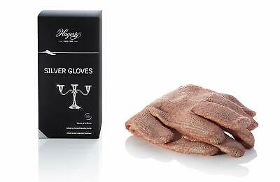 Hagerty Silver/Silver Plated Jewellery Polish Cleaning Gloves Tarnish Barrier