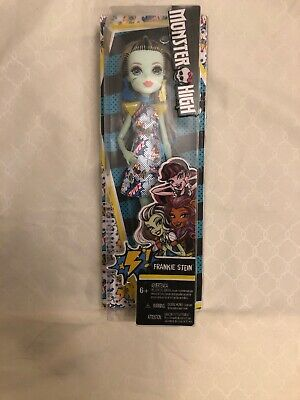 """Monster High Frankie Stein 11"""" Doll with ZAAAP POW Dress New in Box"""