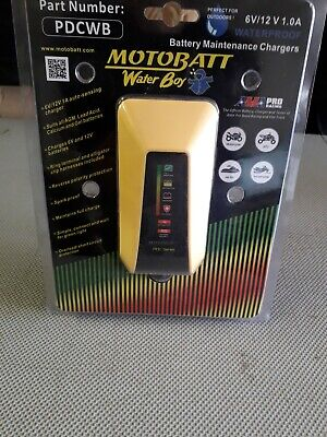 Motobatt water boy- Waterproof 6/12 volt battery charger