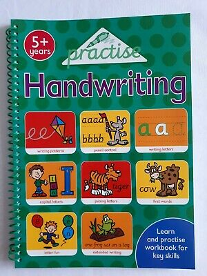 Practice Handwriting Book 5+ years 128 pages Writing Patterns Joining Letters