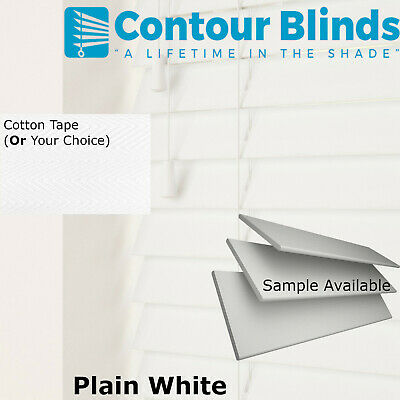 Faux Wood Venetian Window Blinds With  Tapes Made To Measure Blind Child Safe