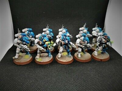 Infiltrators Primaris Novamarine Space marines painted Warhammer 40k Shadowspear