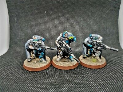 Eliminators Primaris Novamarine Space marines painted Warhammer 40k Shadowspear