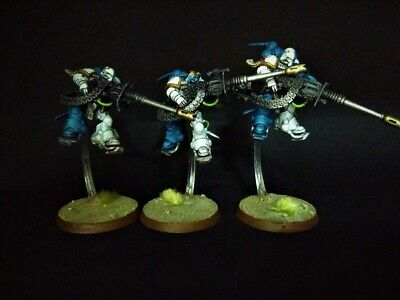 Suppressors Primaris Novamarine Space marines painted Warhammer 40k Shadowspear