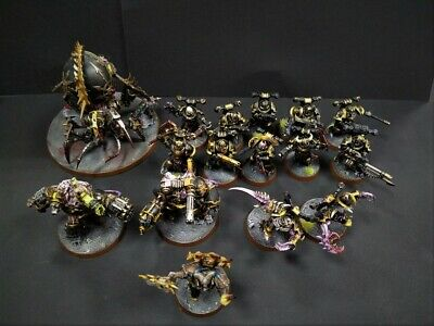 Daemonkin Chaos Space Marines painted part Shadowspear Warhammer 40k