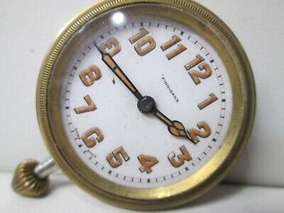 Vintage Finnigans Running Watch Insert Clock