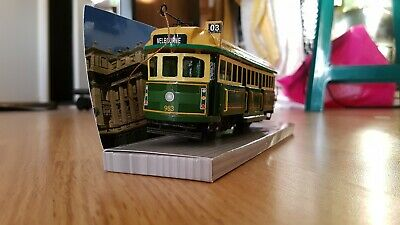 Handcrafted W Class Melbourne Tram Model