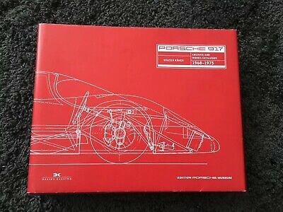 Porsche 917 Book Archives and Works Catalogue 1968-1975 English text