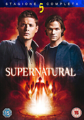 Supernatural - Stagione 5 Completa In Italiano (8 DVD)