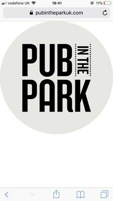 Pub In The Park St Albans Ticket