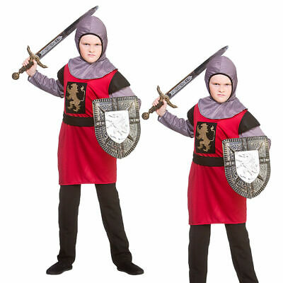 Age 3-13 KIDS BOOK WEEK MEDIEVAL RENAISSANCE KING Boys Fancy Dress Costume