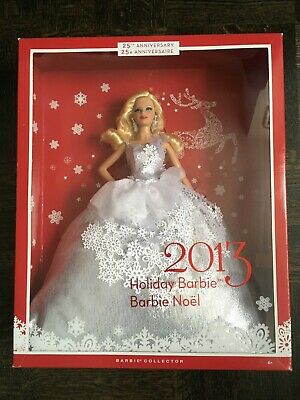 2013 Holiday Barbie Doll - 25th Anniversary Edition - NIB new-in-box Collector