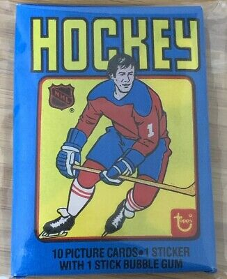 1979-80 Topps Hockey Wax Pack! Possible Gretzky Rc!! Vintage!!