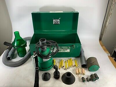 Greenlee 591 Portable Blower Power Fishing System Mighty Mouser Fish Tape *Used*