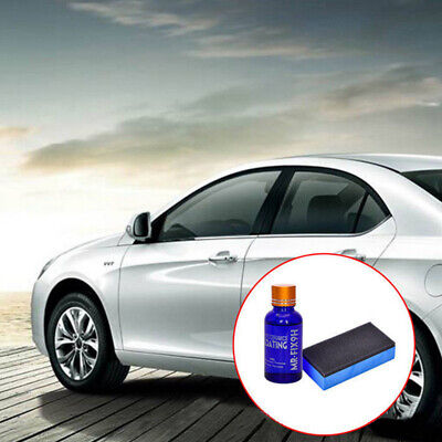 Car Coating Plated Film Set Anti-Scratch Exterior Care Solution Paint Sealant 9H