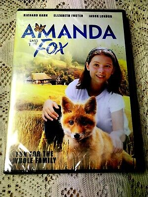 AMANDA AND THE FOX~Fun For The Whole Family~2018 DVD~NEW/SEALED~FREE SHIPPING!