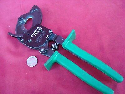"GREENLEE K2-1BGL Ratchet Crimper,22 to 6 AWG,12-7//8/"" L"