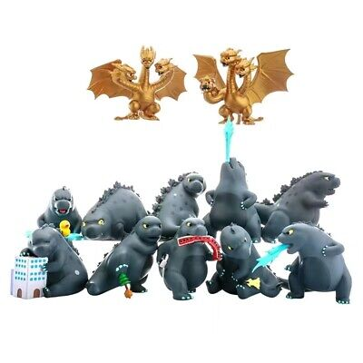2019 Godzilla King of the Monsters Movie Exclusive Movie Cute Toy Figurine Decro