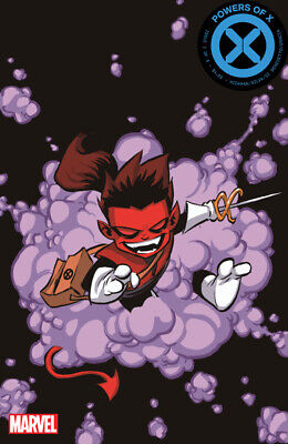 Powers Of X #2 Skottie Young Variant! Marvel 2019 Stock Image