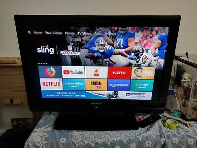 "Sharp LC26SH330E 26"" LCD TV HD Ready Freeview, Richer Sound with HDMI Port"