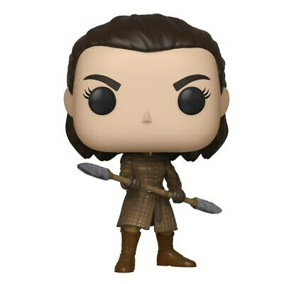 POP Vinyl Game of Thrones Arya with Two-Headed Spear Kids Figure Toys Pre-Order