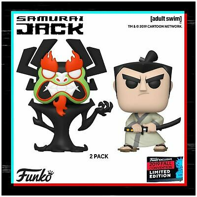 Funko Pop Samurai Jack 2-Pack NYCC SHARED Exclusive Preorder