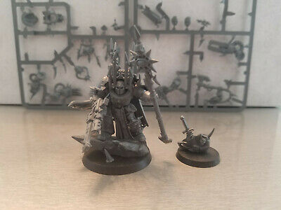 Chaos Space Marine TERMINATOR LORD FRONT DECOR Bits 40K C