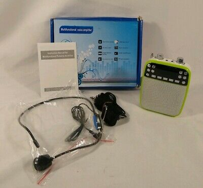 PA Multifunctional Voice Amplifier Booster For Conference Instructors Teachers