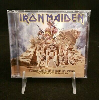 Iron Maiden - Somewhere Back In Time, Best of 1980-89 (CD) 2008, Sony