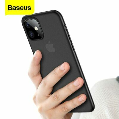 For iPhone 11 11 Pro Max Silicone Case Genuine Baseus Soft Slim Thin Back Cover