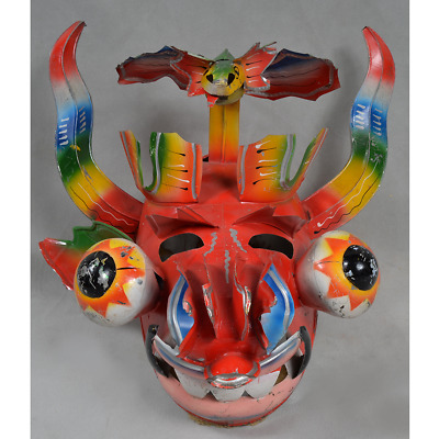 Culturally Used Bolivian Diablo Mask