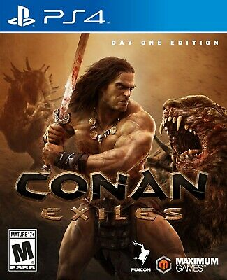 Brand New Conan Exiles Day One Edition PS4 Sealed - Free Fast Shipping