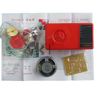 Components 7 Tube AM Radio DIY Kit Electronic Learning Accessories Use Newest