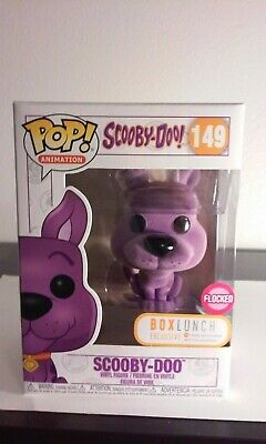 Funko POP! Animation: Scooby Doo Purple Flocked #149 BOXLUNCH EXCLUSIVE NEW  🔥