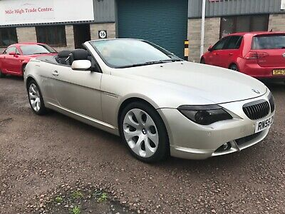 2005 55 BMW 645 ci 4.4 CONVERTIBLE FULL HISTORY