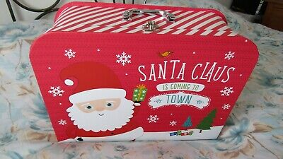 Century House Large Christmas Suitcase / Present Box