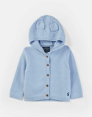 Joules 207486 Character Knitted Hood Cardigan in YORKSHIRE SKY