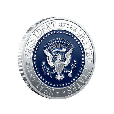 New 45th President Of USA Donald Trump Commemorative Coins Art Challenge Coins