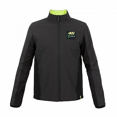 Valentino Rossi VR46 Moto GP Monster Soft Shell jacket Dark Grey - Mens