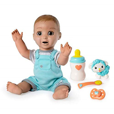 Luvabeau Interactive Talking Baby Boy Doll , Expressions & Movement, PLAY DOLL