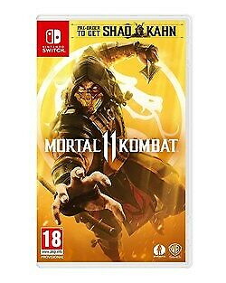 Mortal Kombat 11 [UK Import] Nintendo SWITCH WARNER