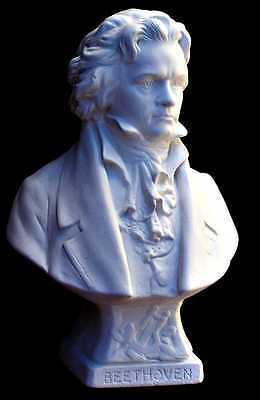 Ludwig Van Beethoven Sculpture Bust Piano Shelf Display Size 30cm Made Sydney