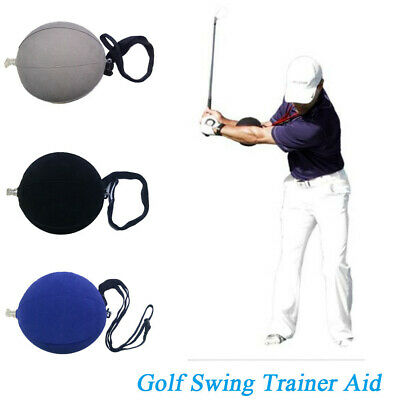 Portable Posture Correction Trainer Assist Golf Swing Aid Smart Inflatable Ball