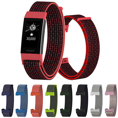 Wristband Breathable Nylon Fiber Band Wrist Strap For Fitbit Charge 3