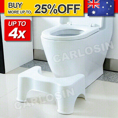 Sit & Squat Squatty Potty Stool Eco Toilet Step Stool Healthy Colon AU Bathroom