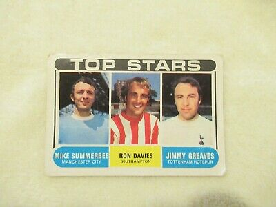 Football A&BC Vintage 1969 (Marked Football Checklist )- Numbers-117-170