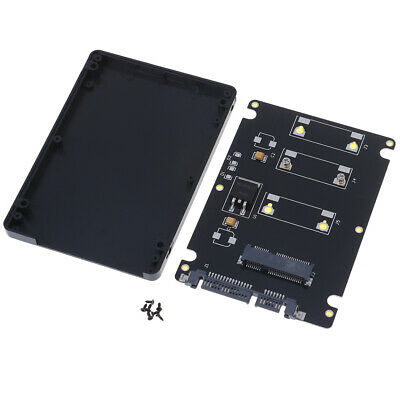 Mini pcie mSATA adapter SSD to 2.5 inch SATA3 adapter card with case、HMYY