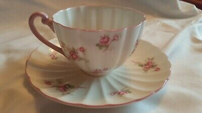 Shelley Teacup And Saucer bridal rose
