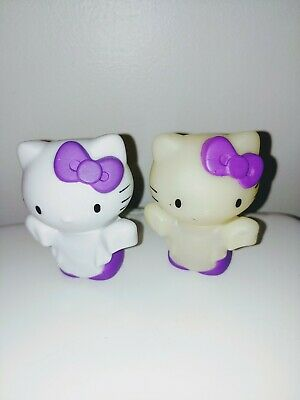 2013 Funko Mystery Mini Hello Kitty Halloween Ghosts White and Glow in the Dark