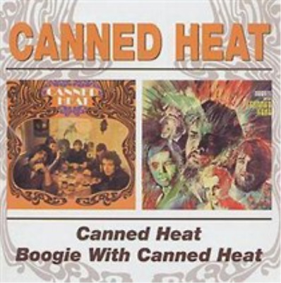 Canned Heat/Boogie With Canned Heat CD NEW